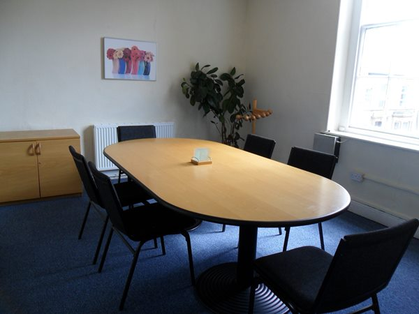 Small meeting room – seats up to 10 people.